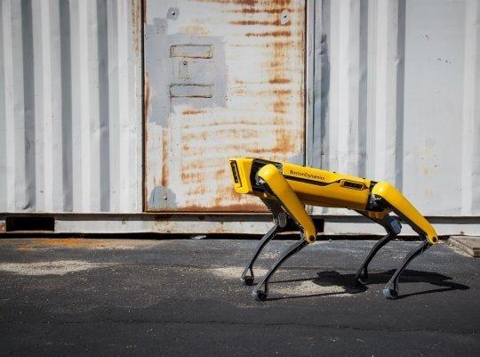 'Robô-cachorro' fará patrulha de distanciamento social em Singapura