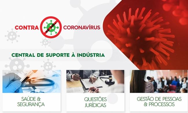 Fiesc cria site de apoio à indústria contra o Coronavírus