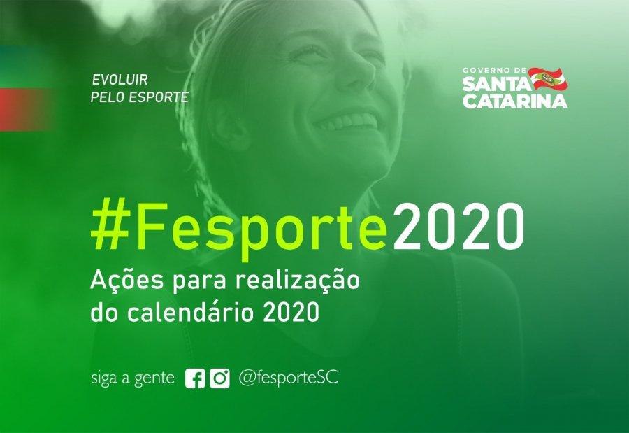Fesporte apresenta propostas para calendário 2020