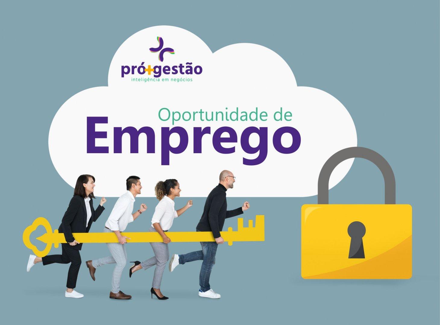 OPORTUNIDADE DE EMPREGO 24.08