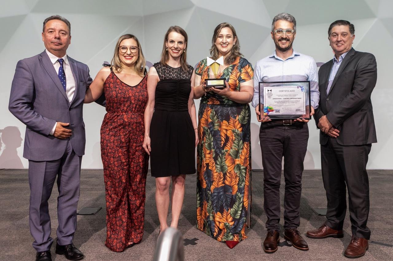 UniSociesc recebe Top de Marketing na Fiesc