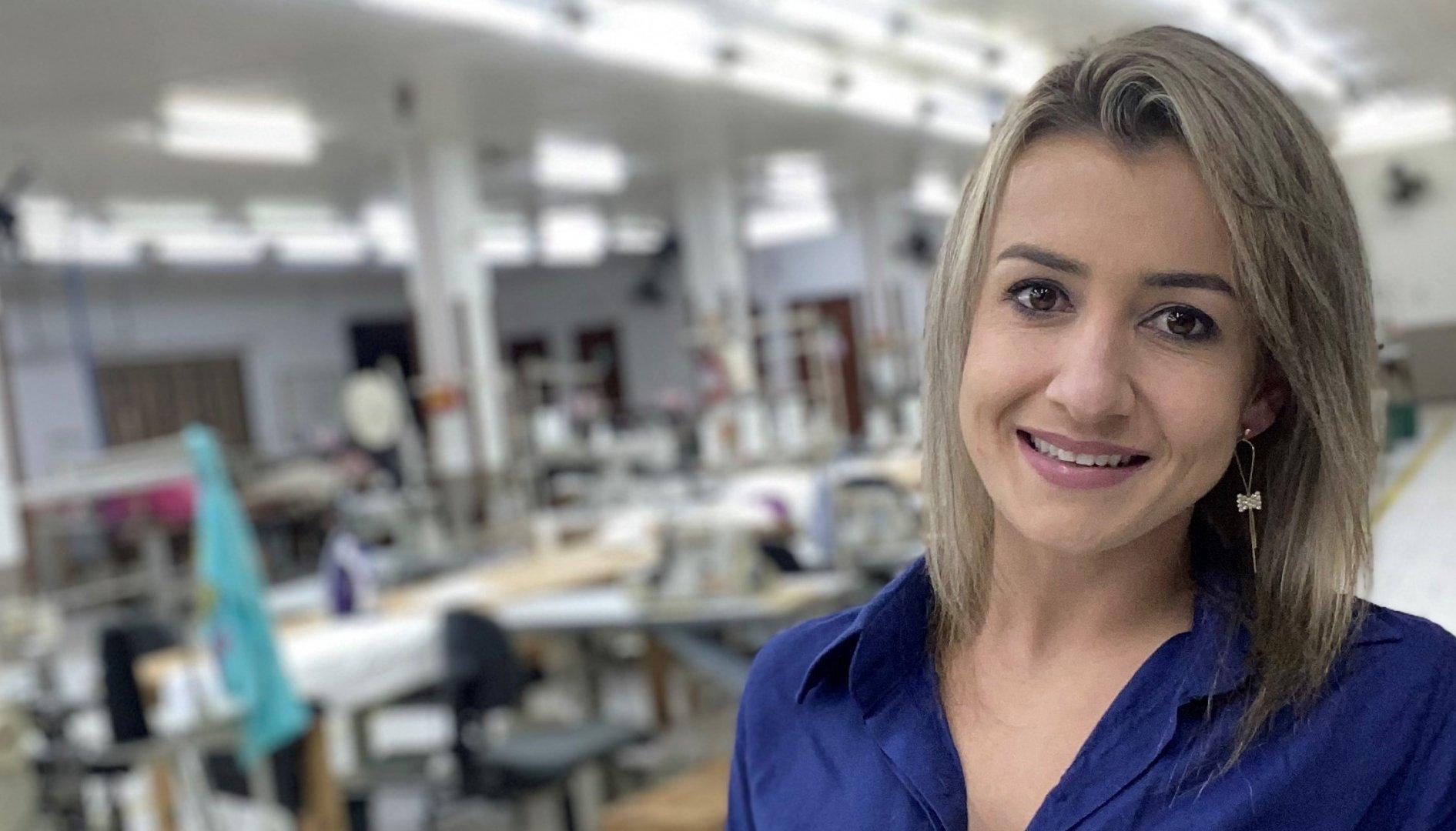 Lucimara Pandini: empresária assume empresa familiar e se destaca em Presidente Getúlio