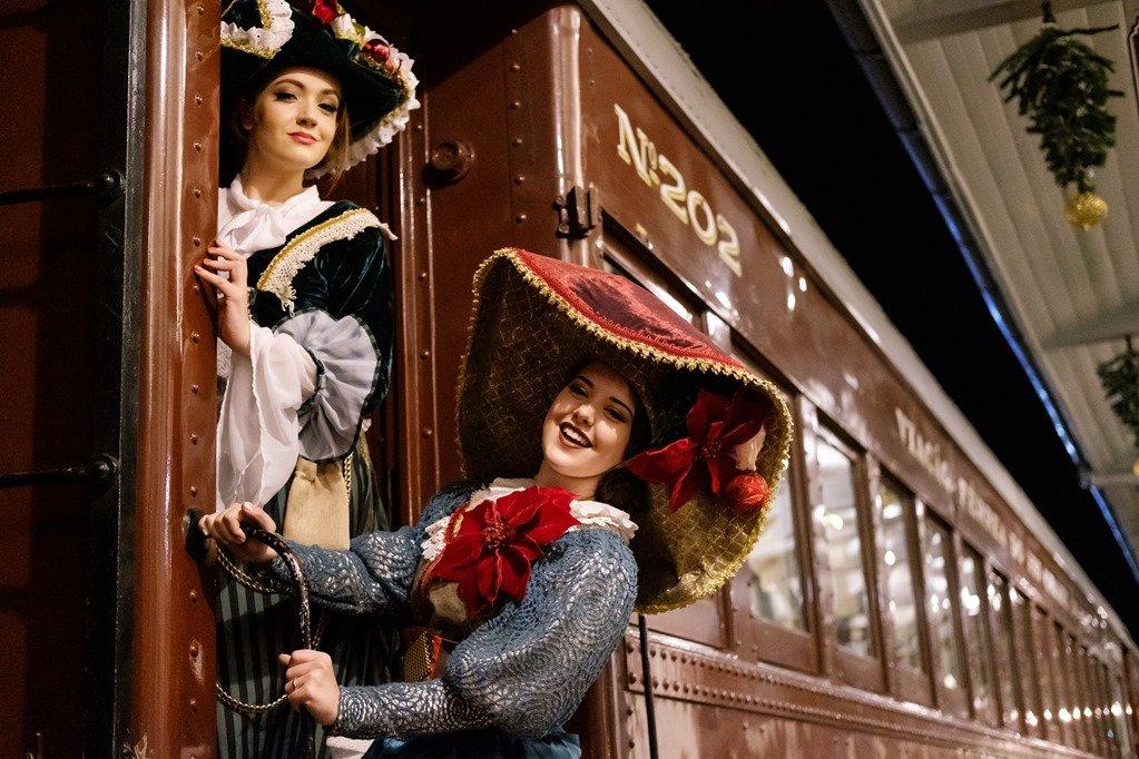 Natal Sobre Trilhos na Maria Fumaça - Trem do Vinho, uma viagem com a essência e encantamento do Natal