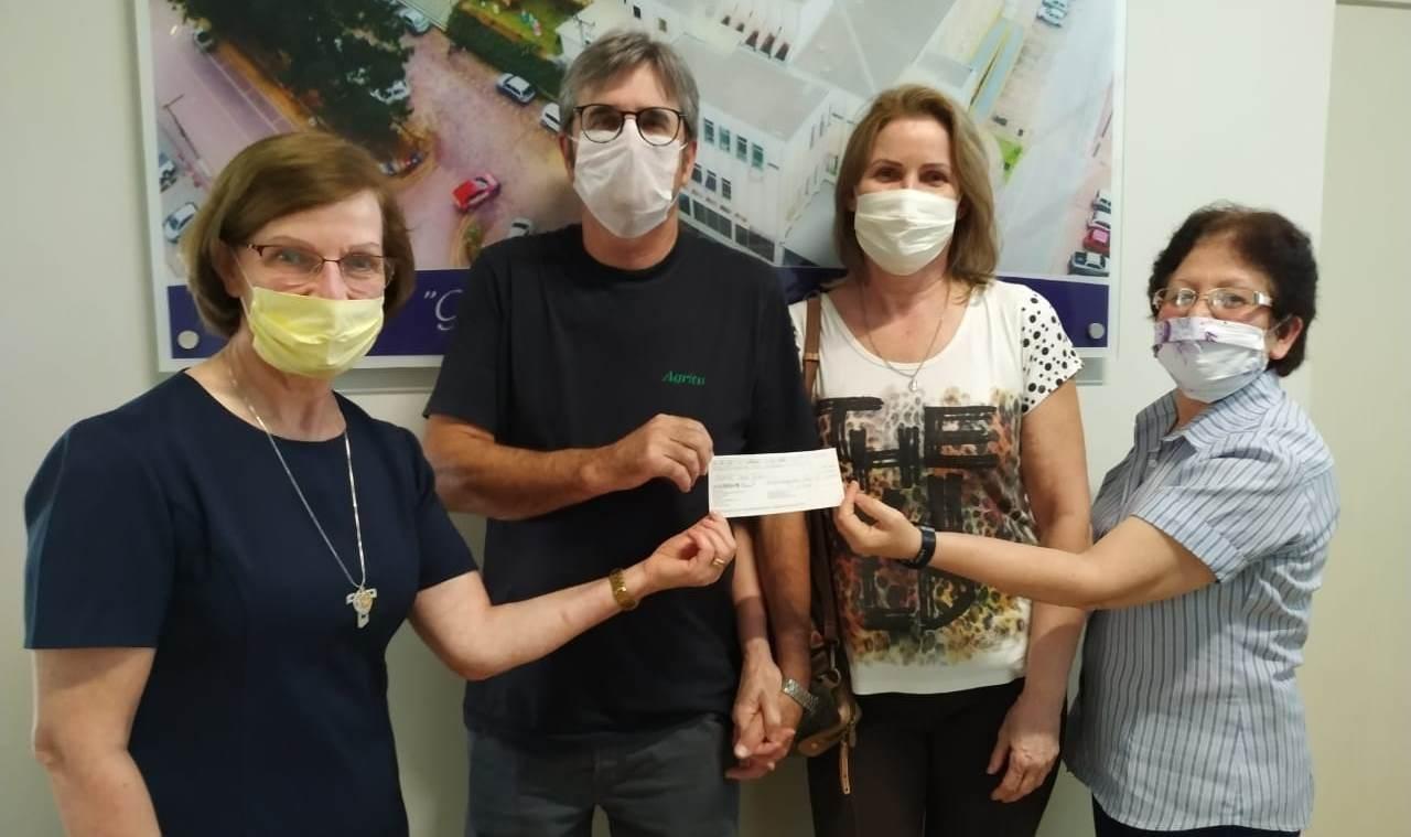 Agritu Sementes repassa R$ 50 mil para o Hospital Bom Jesus