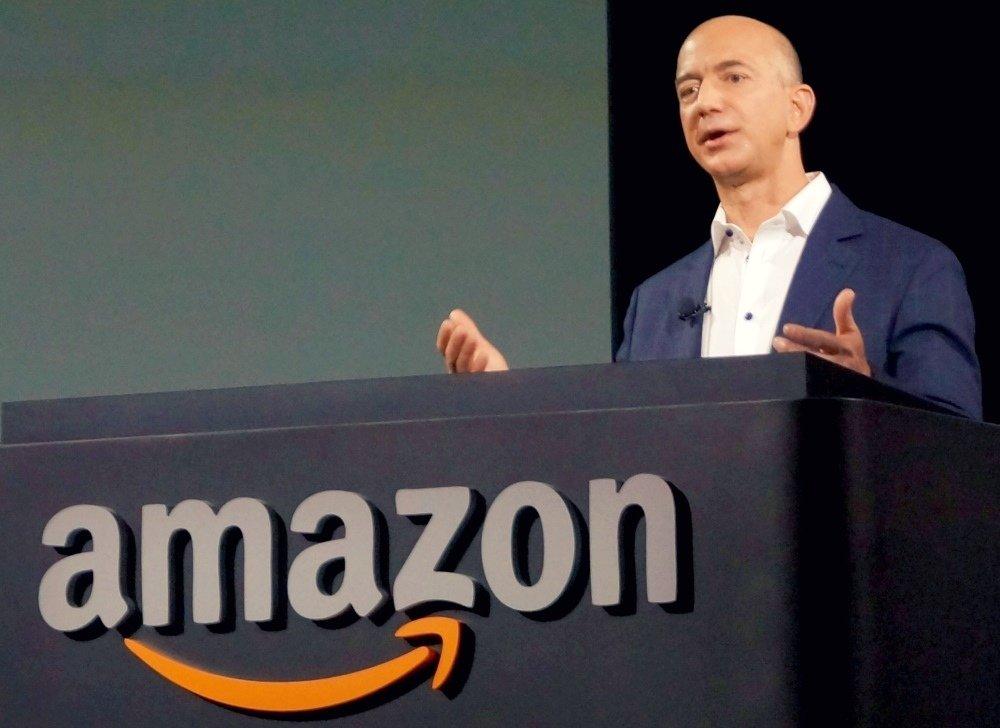 Em apenas um dia, o dono da Amazon aumentou sua fortuna em 13 bilhões de dólares