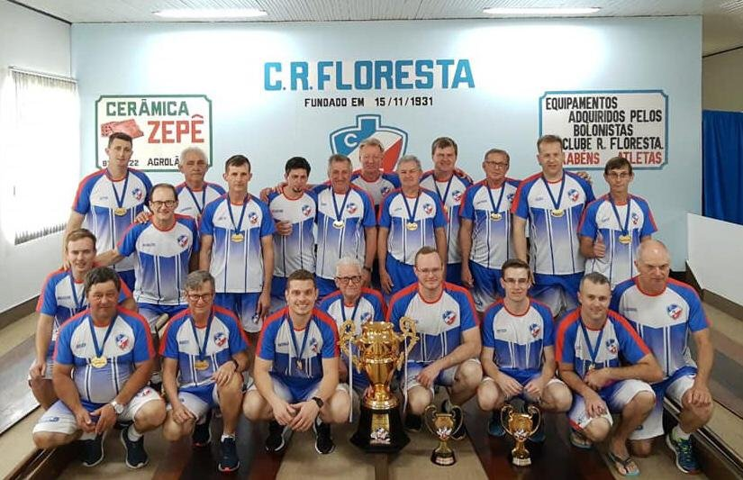 Clube Floresta de Agrolândia é campeão da Taça Ouro Bolão 23 masculino
