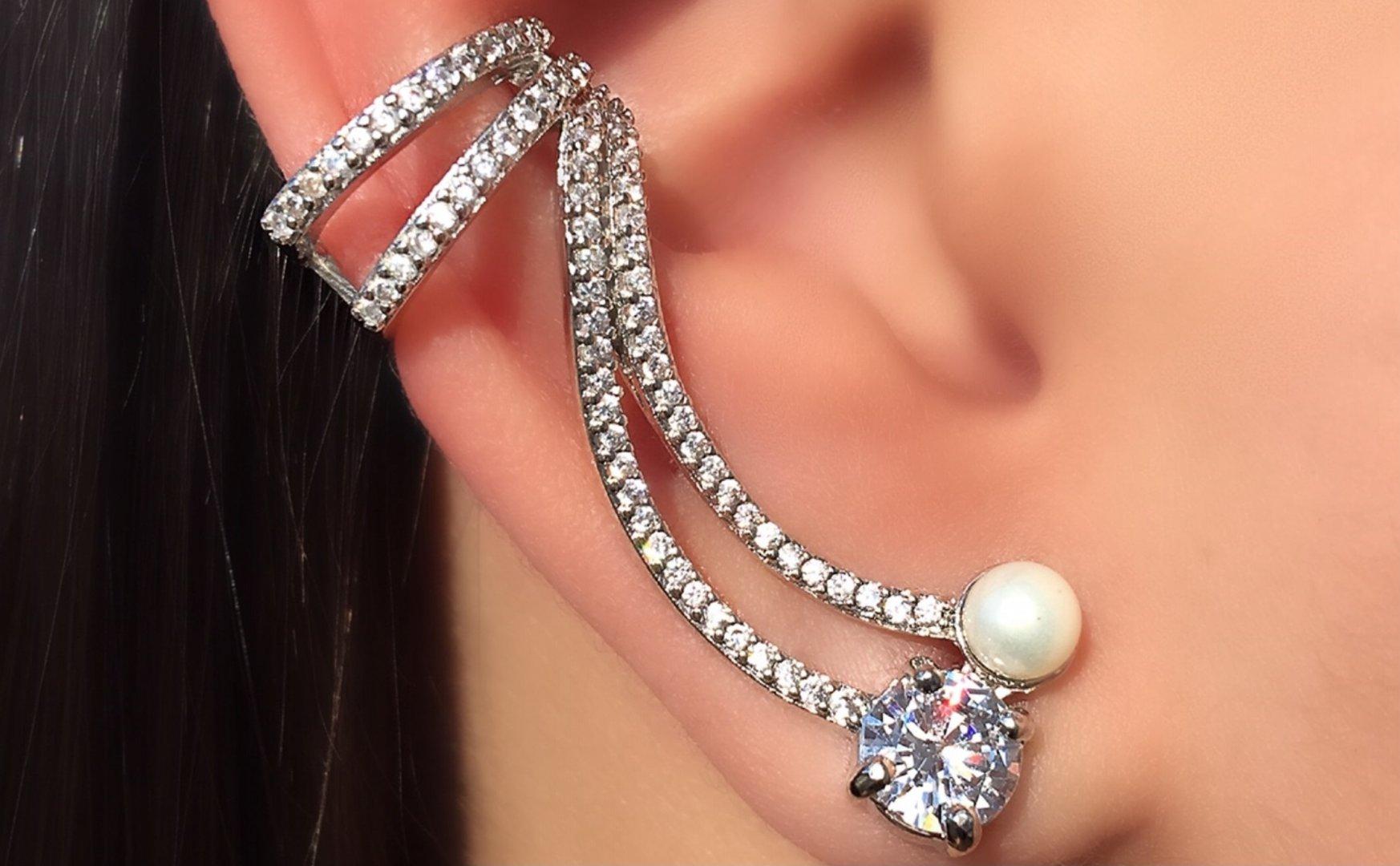 Dicas de como utilizar o brinco Ear cuff