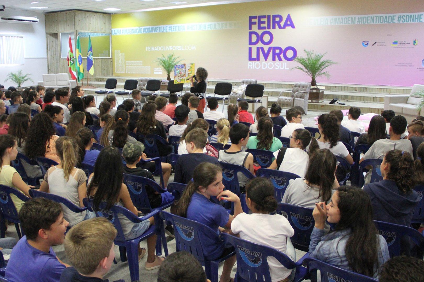 Feira do Livro de Rio do Sul lança programação