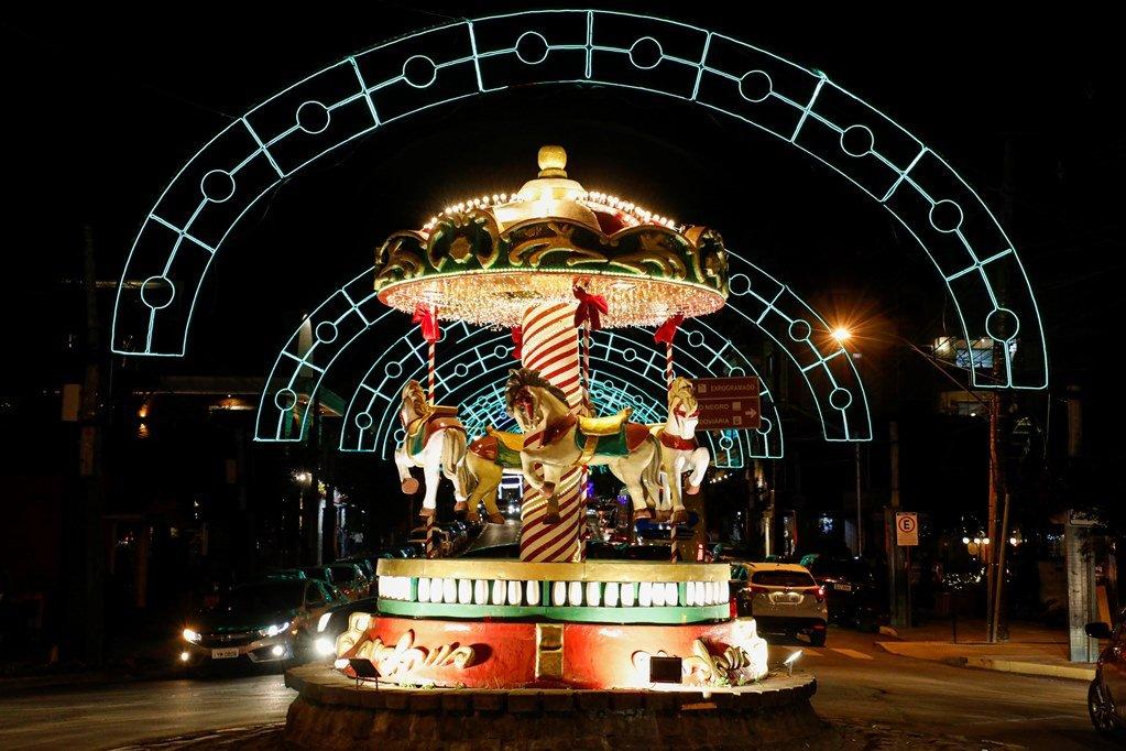 Gramado já é a cidade mágica do Natal