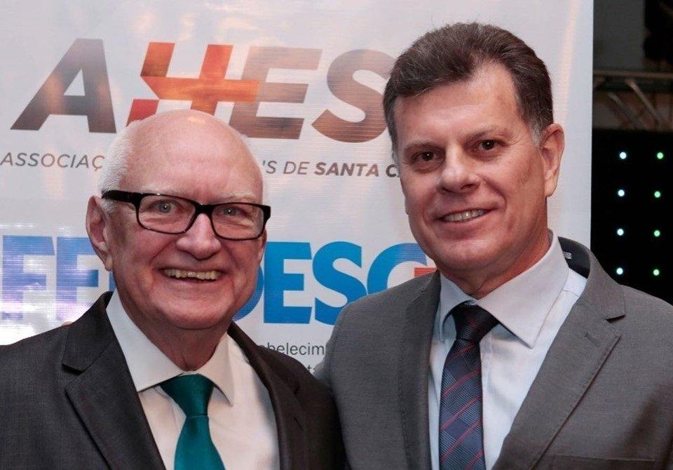 Giovani Nascimento é o novo presidente da Federação dos Hospitais de Santa Catarina