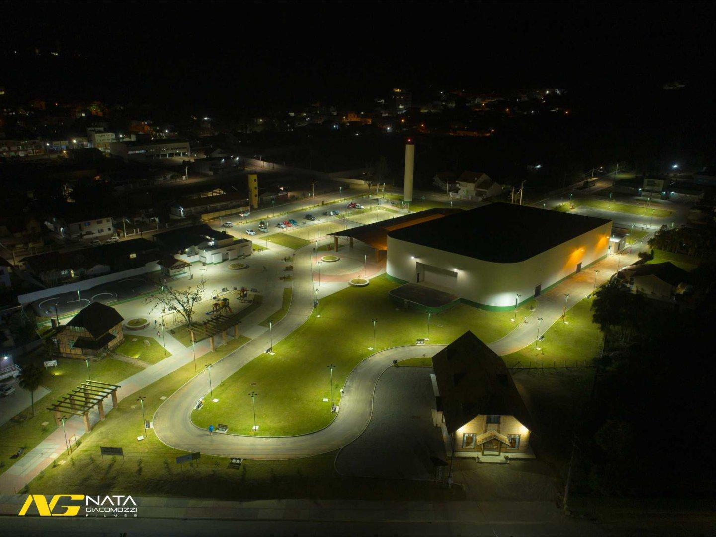 Ibirama inaugura Parque Municipal