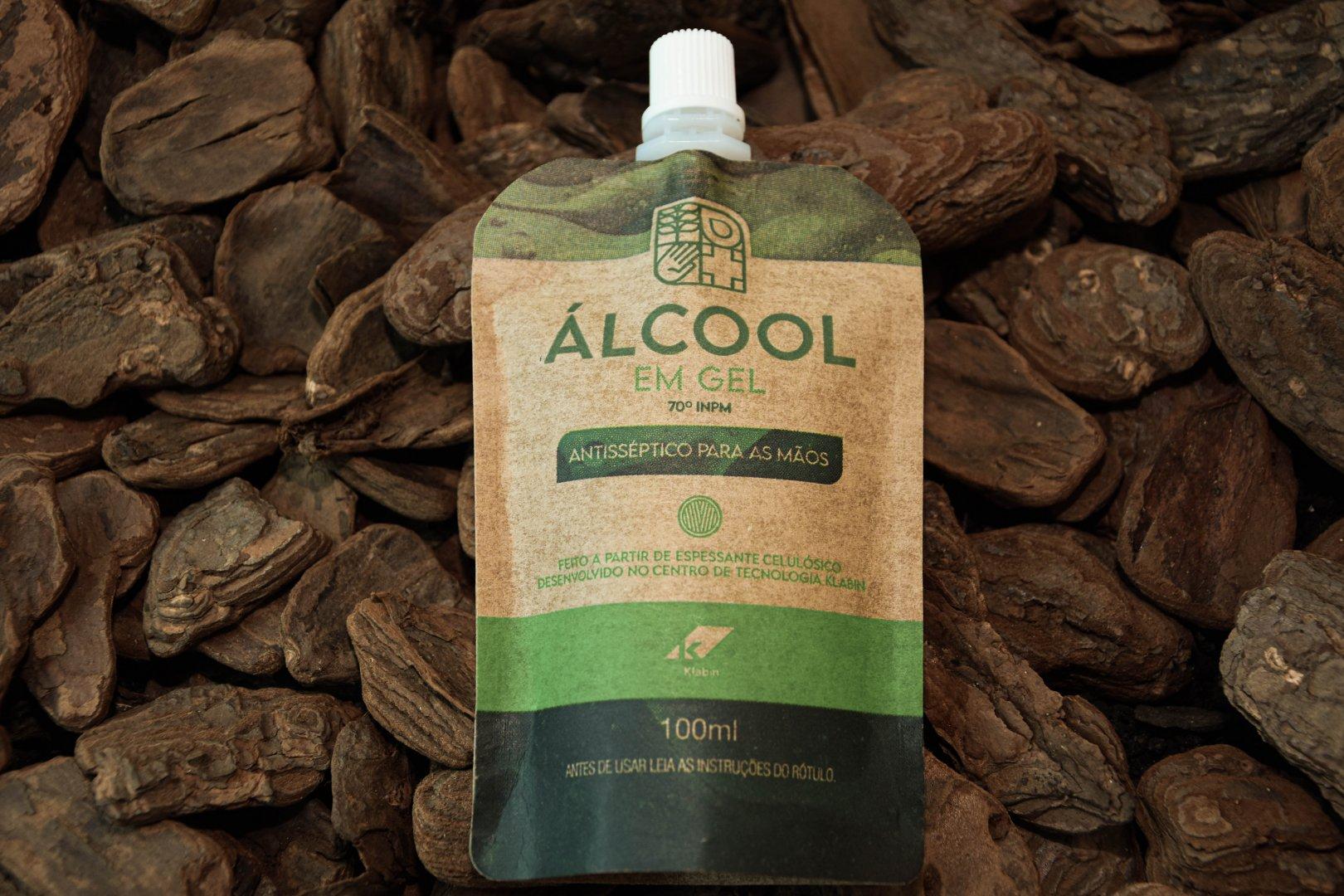Klabin doa quatro toneladas de álcool em gel produzido a partir da celulose