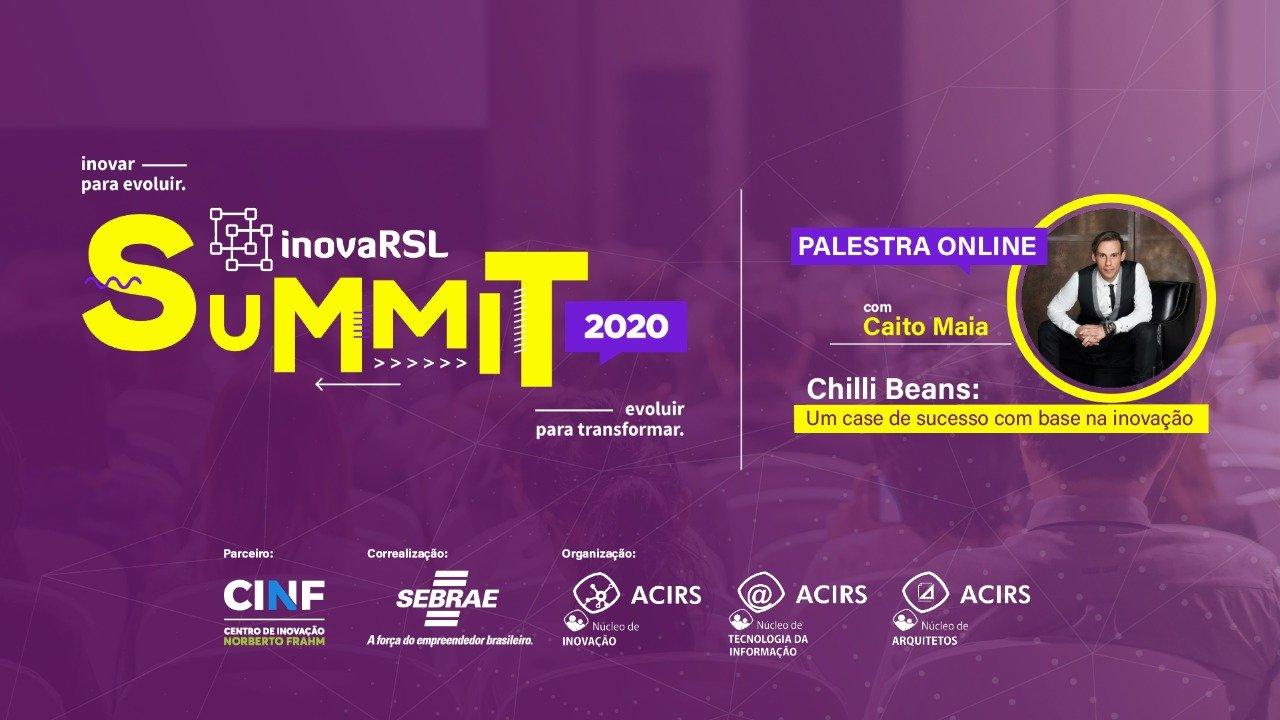 InovaRSL Summit on-line e gratuito está confirmado para dezembro