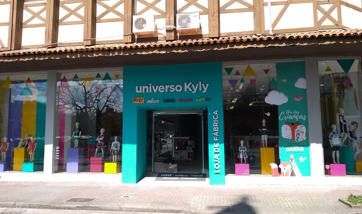 Grupo Kyly inaugura loja própria no coração comercial de Blumenau