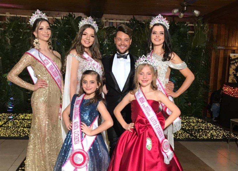 Manu Maggio é a nova Miss Mini Universe Santa Catarina