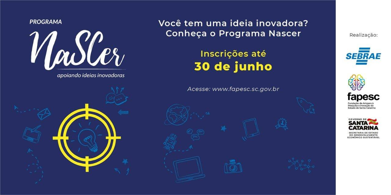 Programa Nascer recebe propostas do Alto Vale para pré-incubação de ideias inovadoras