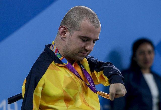 O paratleta rio-sulense, Bruno Becker da Silva, é bronze nos Jogos Parapan-Americanos