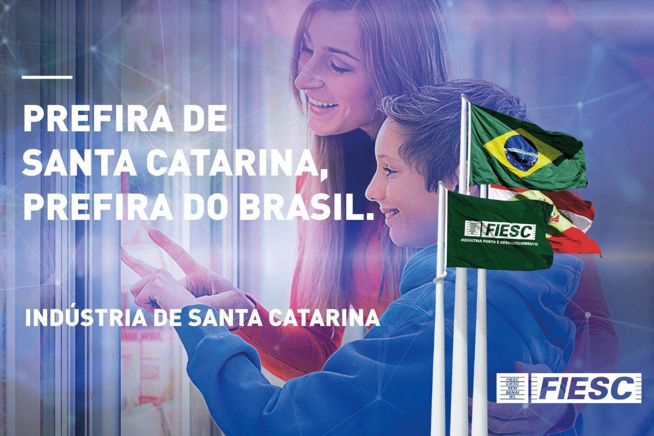 FIESC convida catarinenses a optarem por produtos de SC