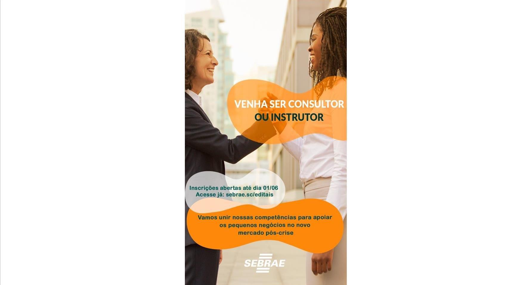 Sebrae/SC abre edital de credenciamento para contratação de Pessoa Jurídica