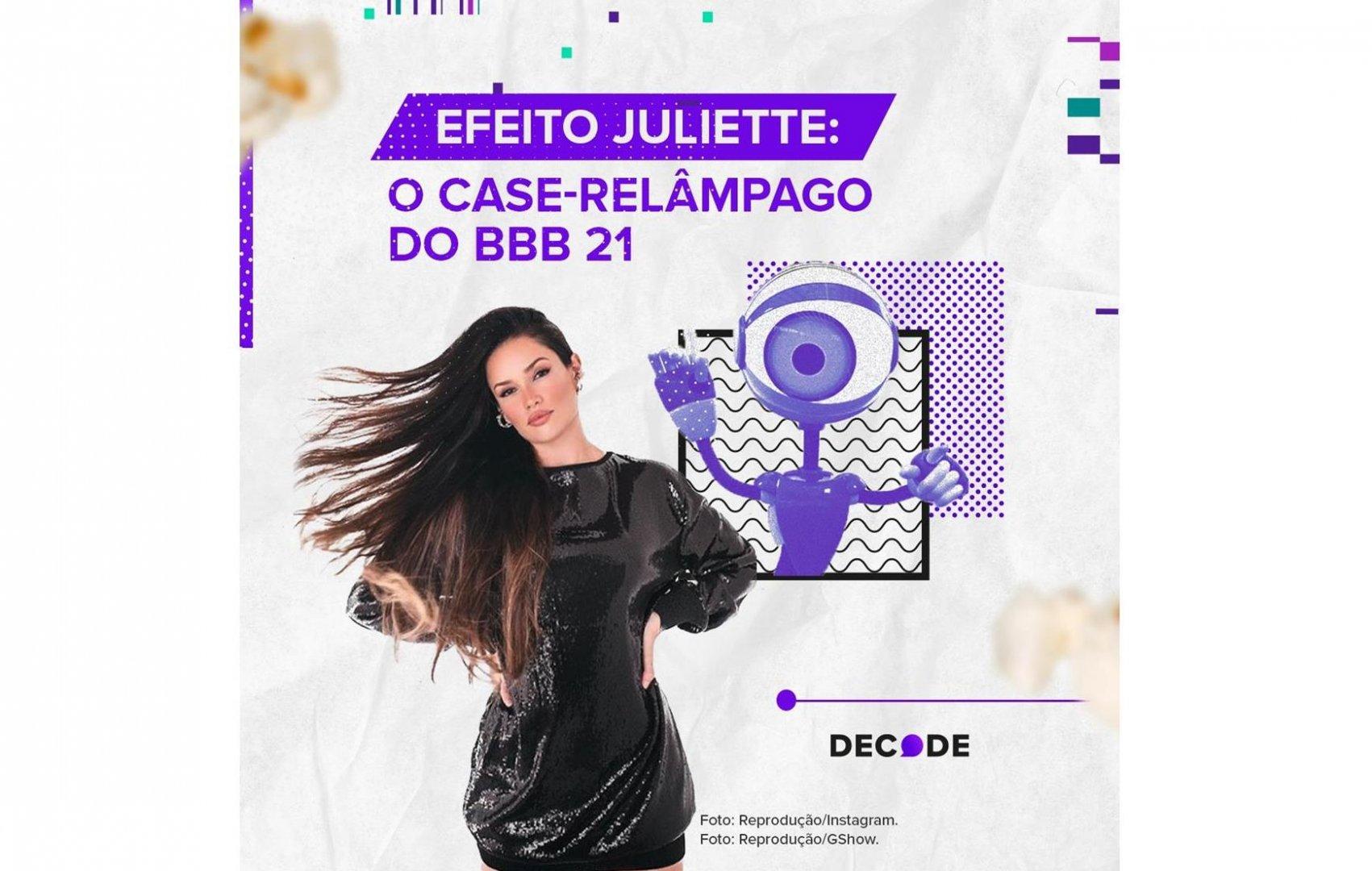 Juliette Freire, a BBB-fenômeno das redes sociais, tem crescimento de 14.074% em número de seguidores