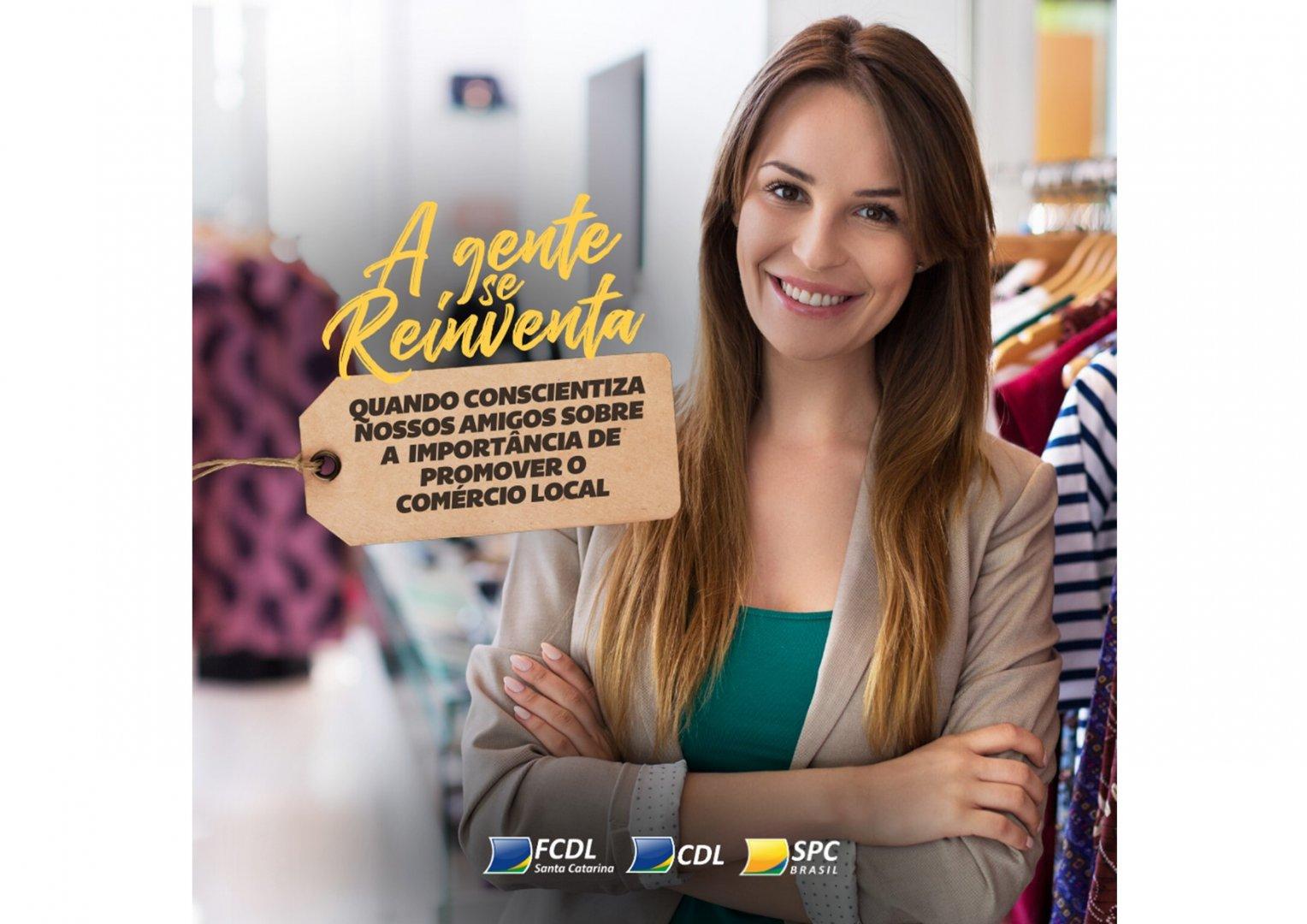 Federação lança campanha de Incentivo ao Comércio local