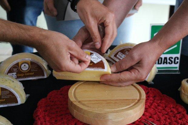 Santa Catarina entrega Selo Arte para queijo colonial produzido em Rio do Sul