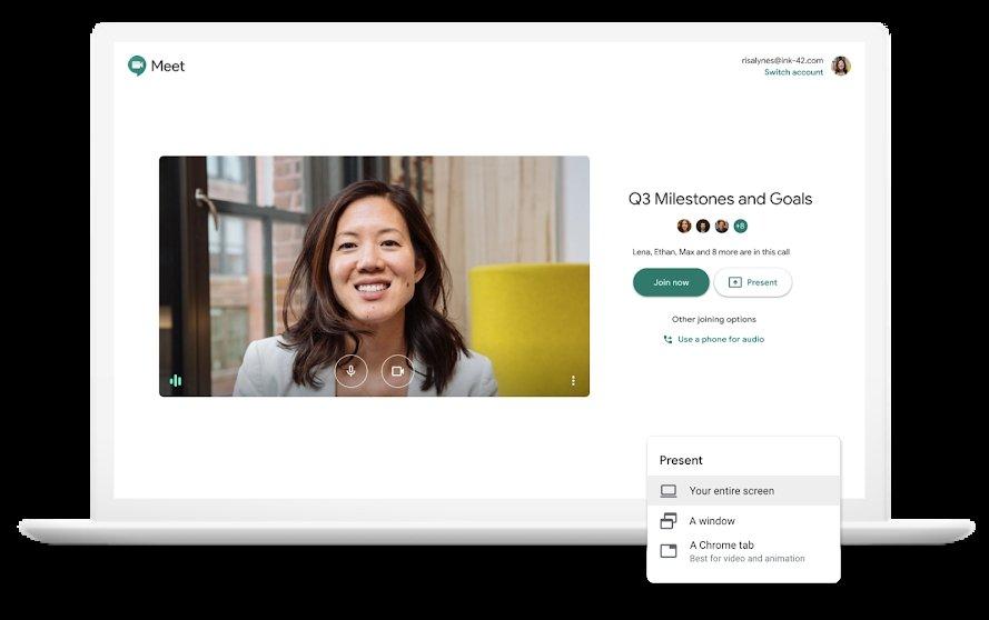 Google Meet: integração total com o G Suite