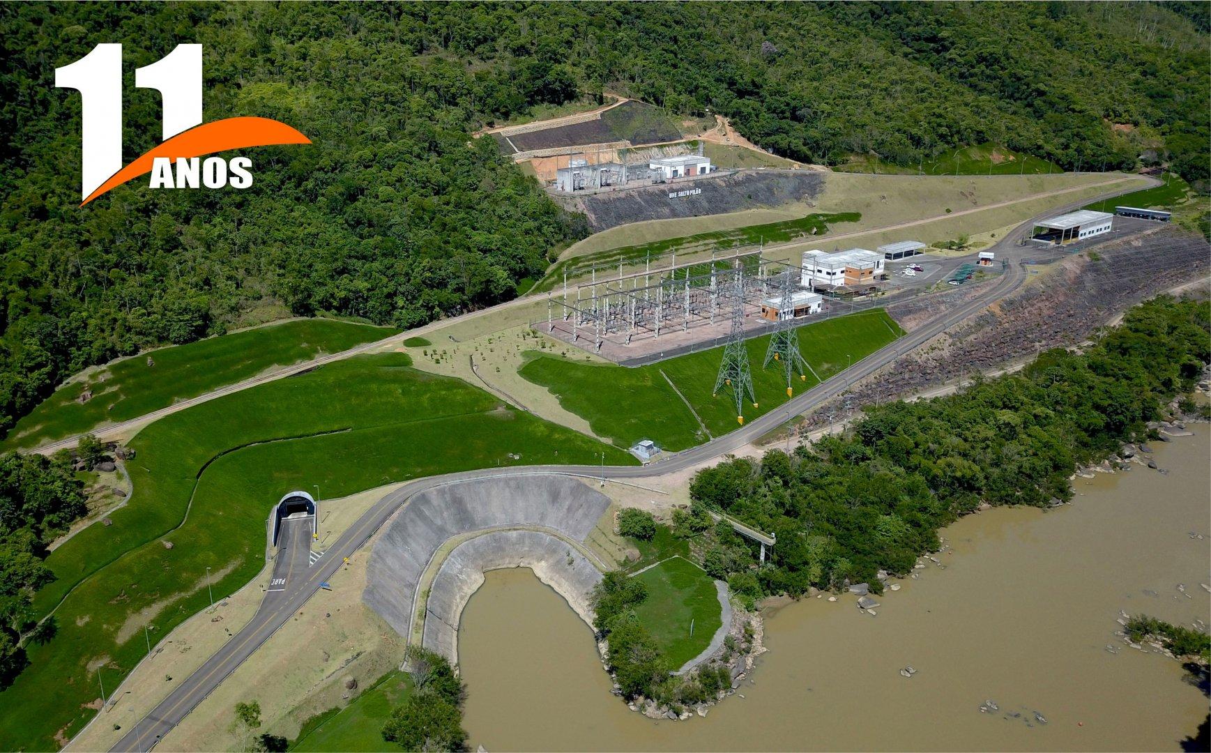 Usina Salto Pilão comemora 11 anos de Operação Comercial