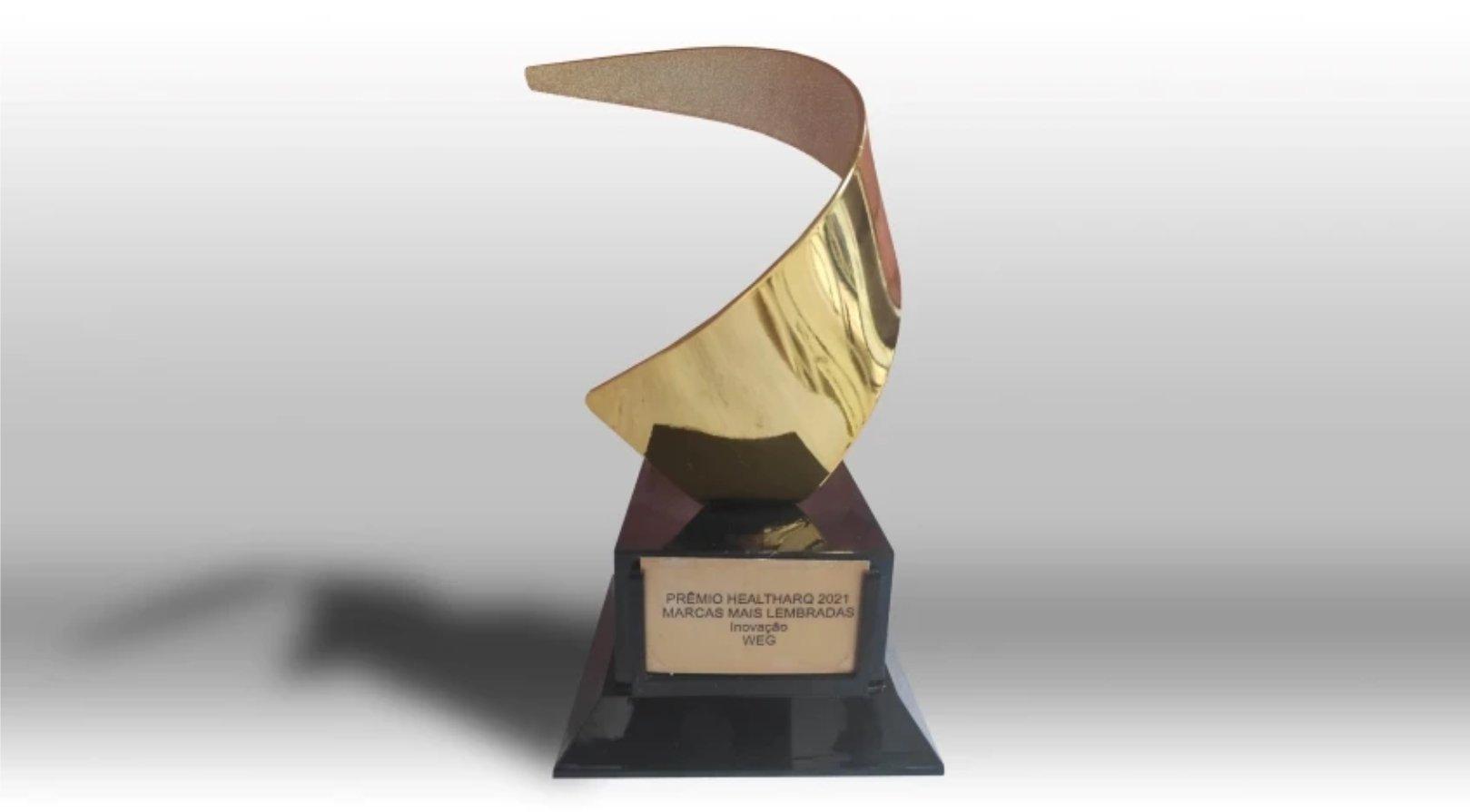 WEG recebe prêmio de marca mais lembrada em inovação na área da saúde